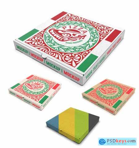Pizza Box Mockup 319784782