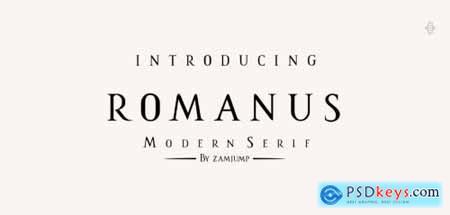 Romanus Regular