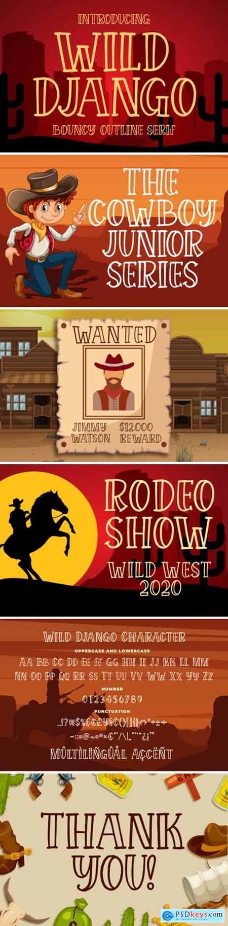 Wild Django Font