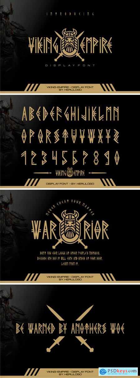 Viking Empire Font