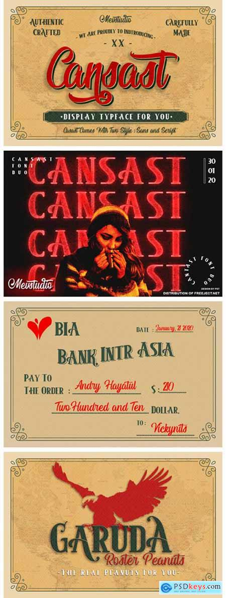 Cansast Font
