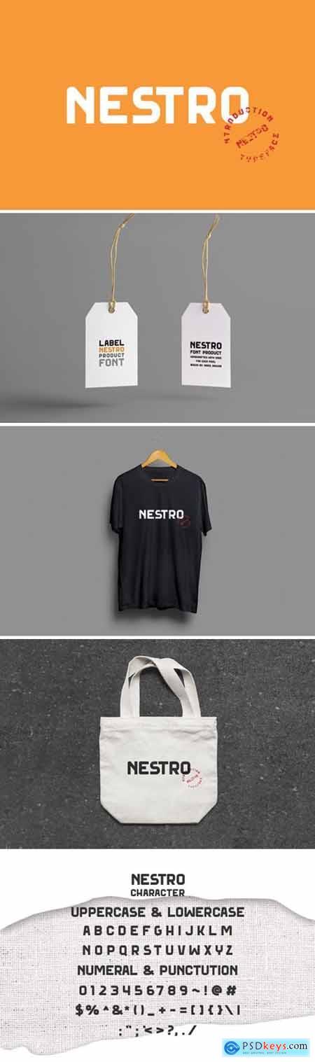 Nestro Font