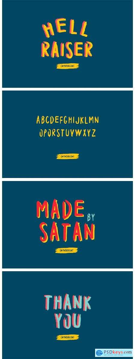 Hell Raiser Font