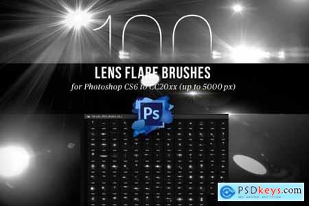 100 Lens Effect Brushes for PS Vol 1 4443103
