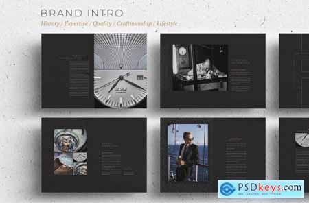 Luxury Brochure & Catalogue 72 pp