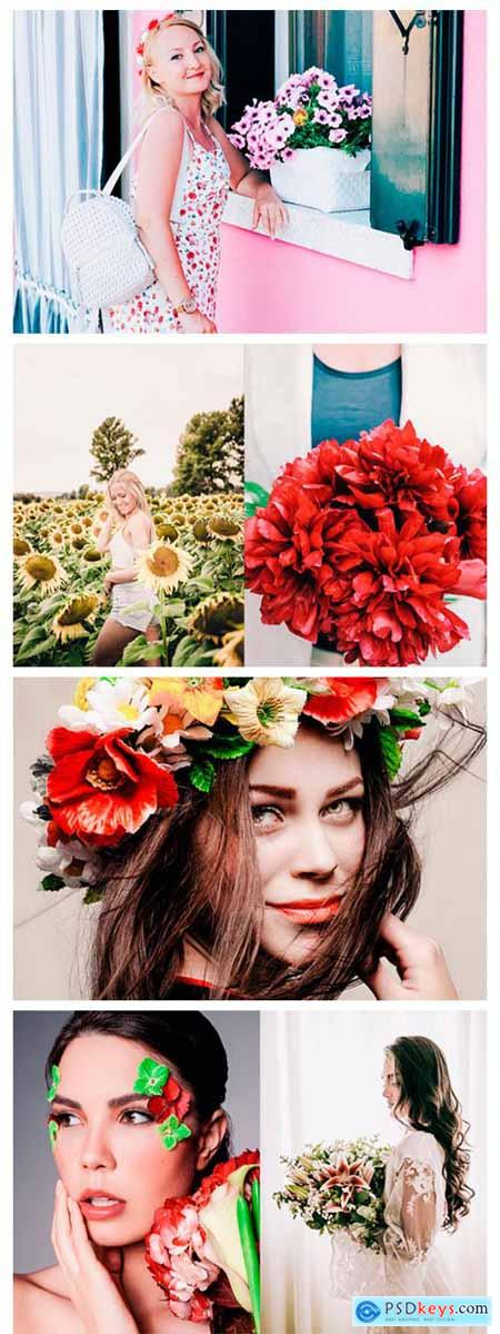 FLOWERS Lightroom Presets Premium 2732848