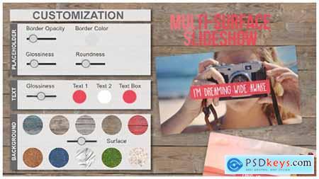 Multi-Surface SlideShow 12034589