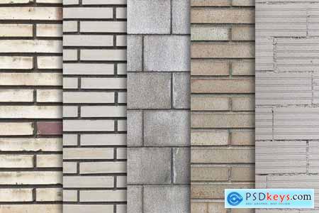 Brick Wall Textures x10 Vol.4