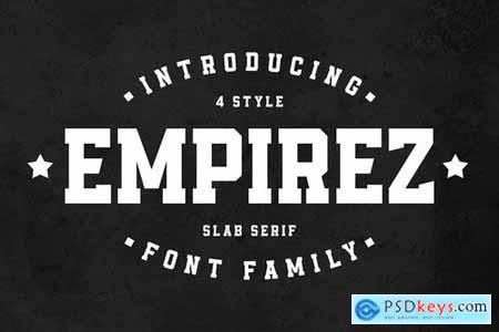 Empirez - Slab Serif 4523774
