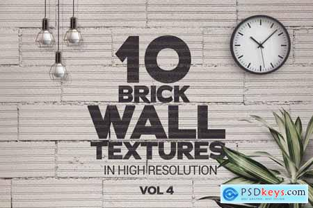 Brick Wall Textures x10 Vol.4