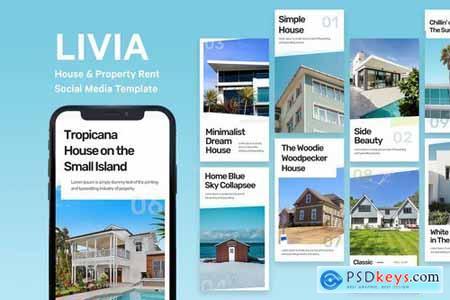 Livia - House Instagram Story Template