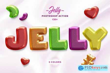 Jelly Photosop Action