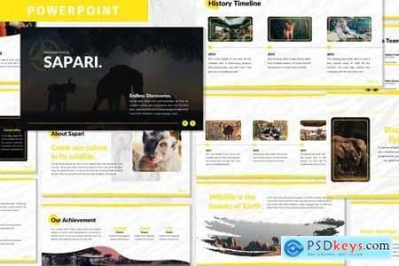 Sapari - Business Powerpoint Template