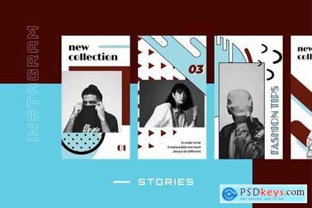 Vontez - Pop Art Instagram Stories Kit