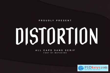 Distortion - Wavy Sans Serif