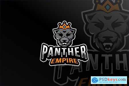 Panther Empire Esport Logo Template