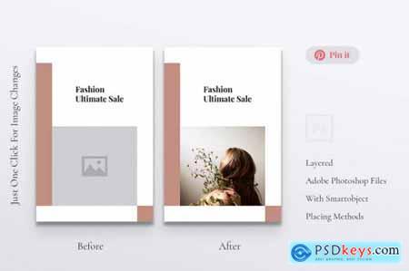 ANITA Fashion Business Pinterest Template