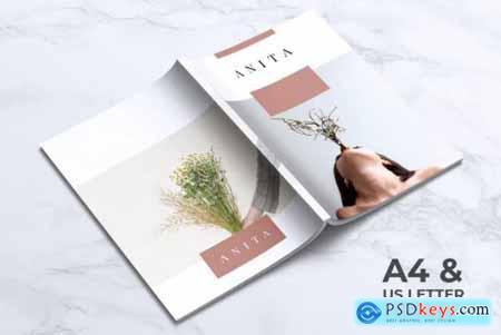 ANITA Fashion Lookbook Brochures Template