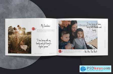 Family Memories Album Template