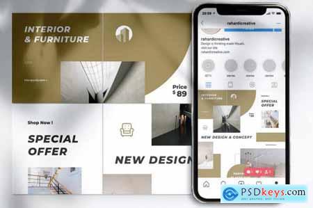 GOODY Interior Design Instagram & Facebook Post
