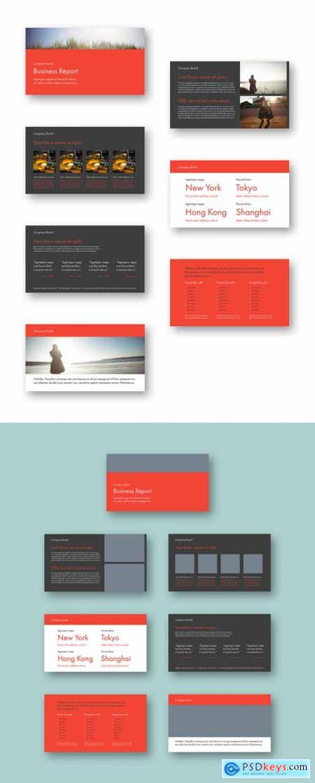 Red and Gray Keynote Presentation Layout 320645525