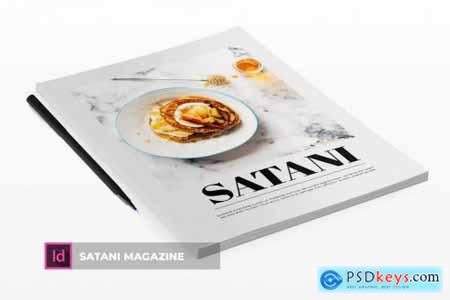 Satani - Magazine Template
