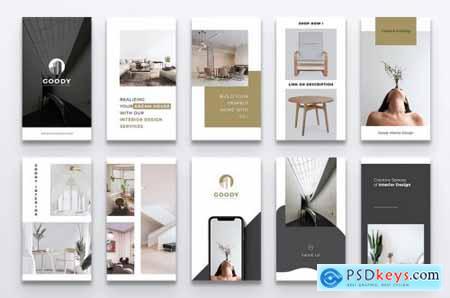 GOODY Interior Design Instagram Stories