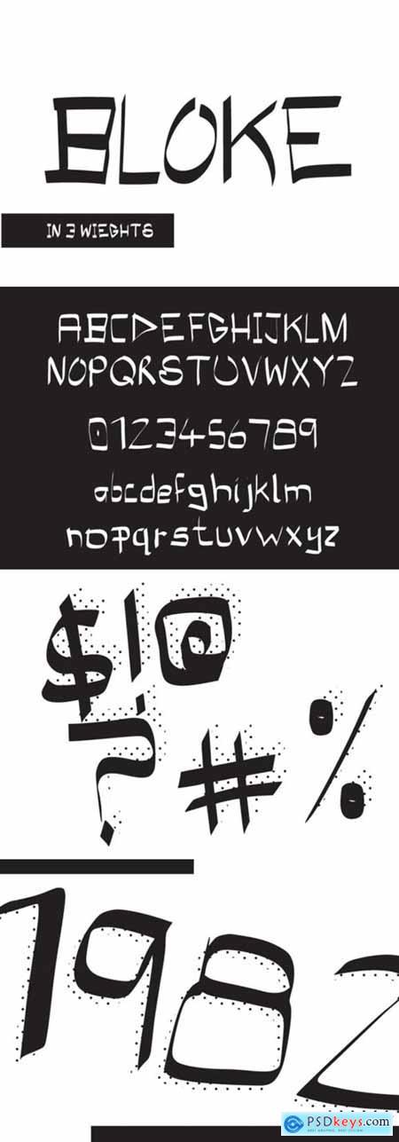 Bloke Font