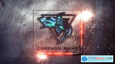 Videohive Metal Industrial Logo 23353824