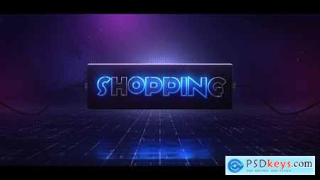 Videohive Glow Lamp Logo 23735305