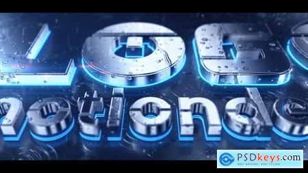 Videohive Rain 3D Logo 22883707