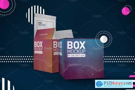 Abstract Box Mockup 4445098