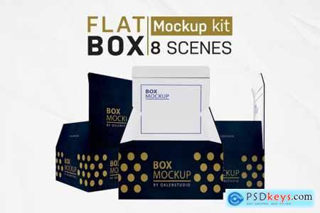 Flat Square Box Kit 4445039
