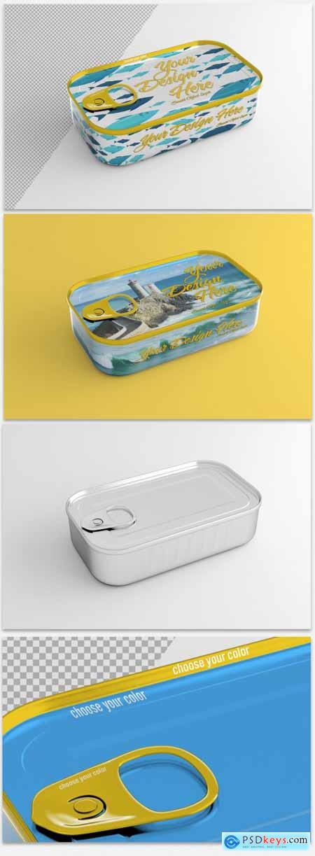 Tin Can with Pull Tab Mockup 320883261