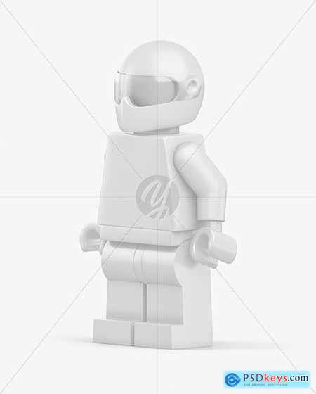 Racer Mini Figure Mockup 55214