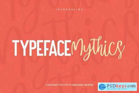 Mysthics - Font Duo Script Sans Type 4537552
