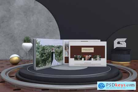 Wedding Album Template Design