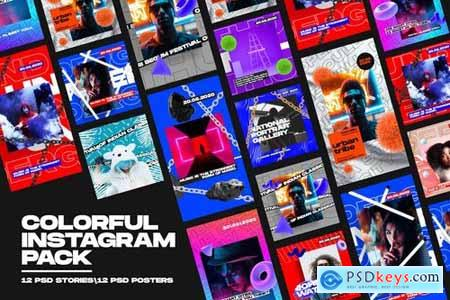 Colorful Instagram Pack