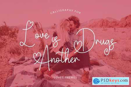 Valentine Memories Romantic Font