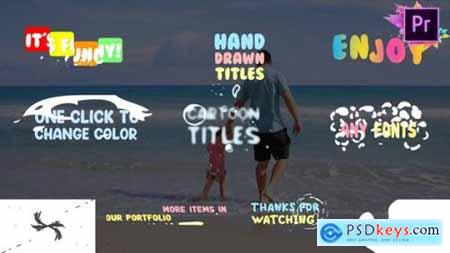 Fun Title Premiere Pro MOGRT 24471083