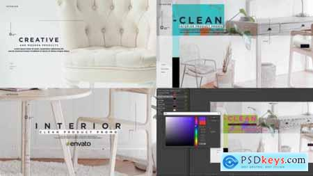 Videohive Clean Interior Product Promo 25350525