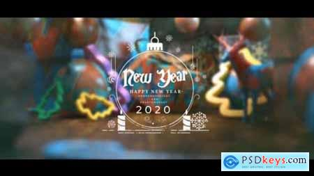 Videohive Christmas Postcard And Opener 2020 25296403