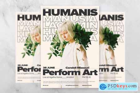 Humanis Artist Flyer