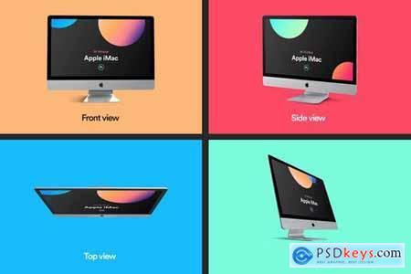 iMac Mockup Collection 03
