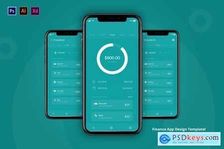 Finance App Design