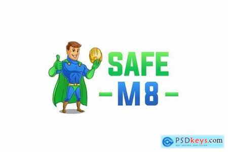 Safe M8 Logo