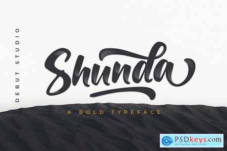 Shunda Typeface