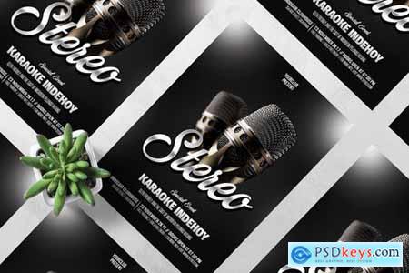 Stereo Music Flyer