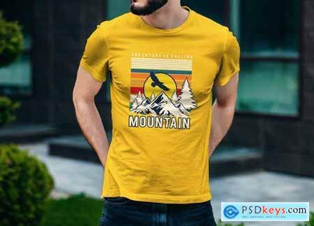 T-Shirt Mockup Vol 09