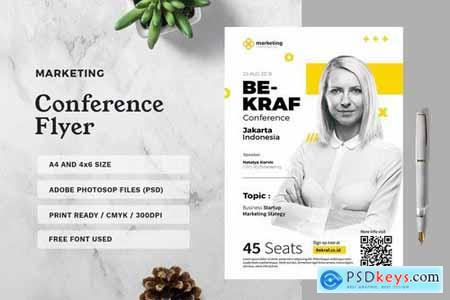 Marketing Conference Flyer